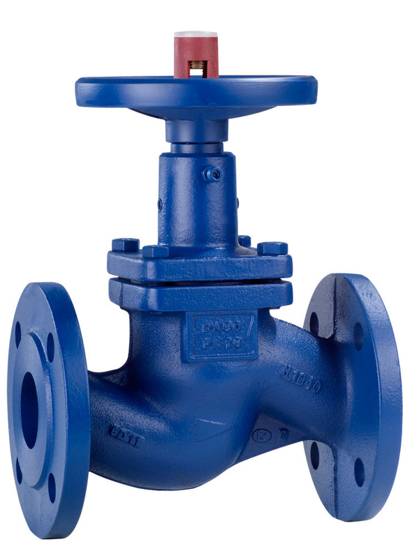 Design flanged or weld end bellows-type globe valve with shut-off or throttling valve plug